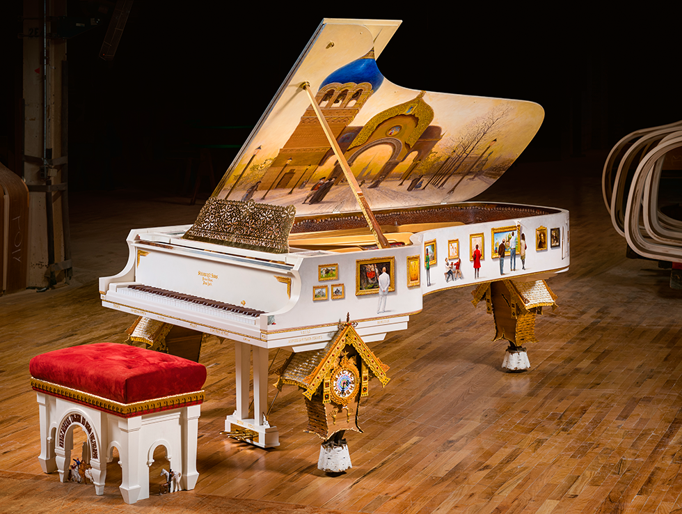 first year piano breathtaking art case piano steinway sons