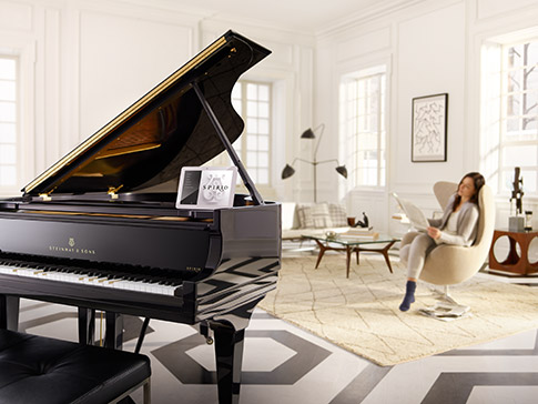 Enjoy the Spirio player piano in your home